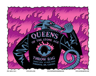 Queens of the Stone Age & Throw Rag